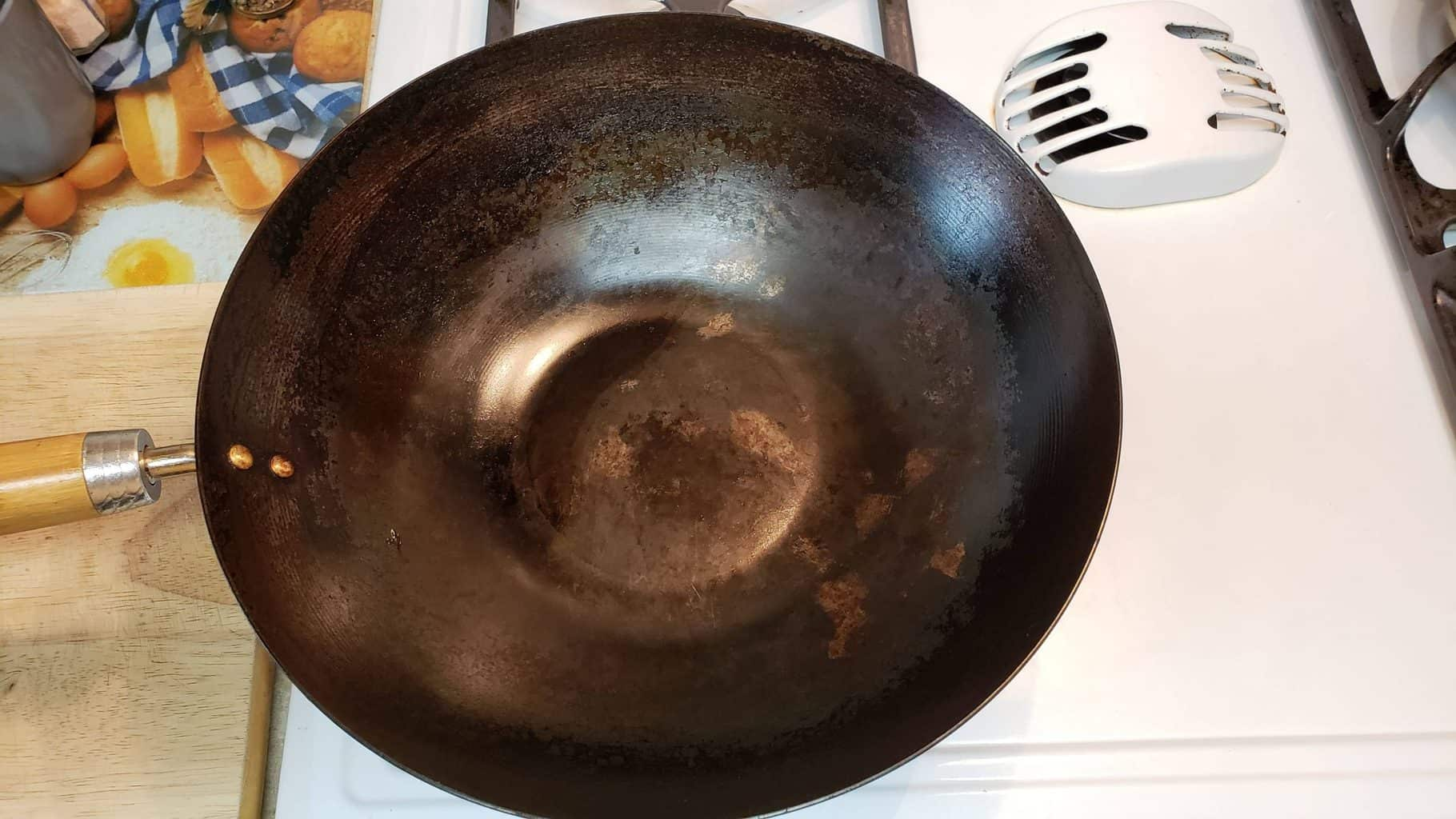 What Should My Wok Patina Look Like?